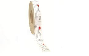 Cartoncino termico con tratteggio
